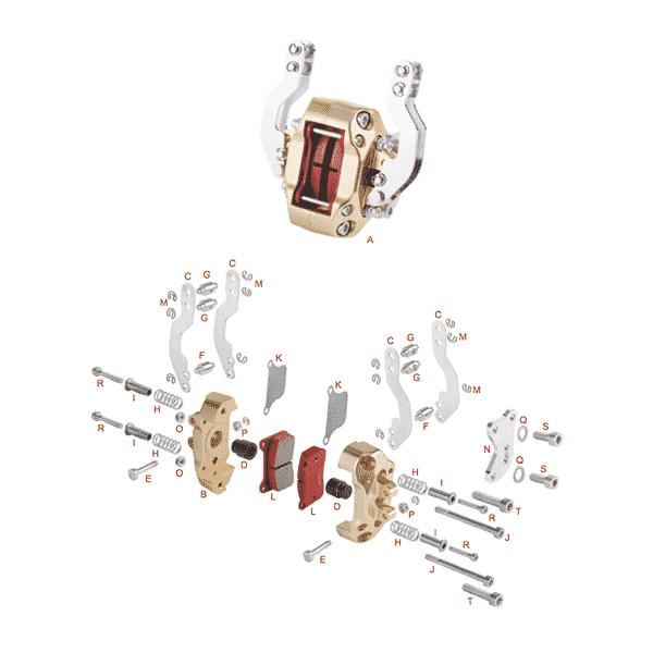 Bremsecaliber Mekanisk BSC